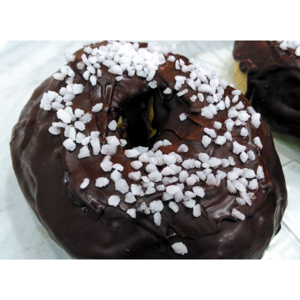 Donuts de xocolata negra